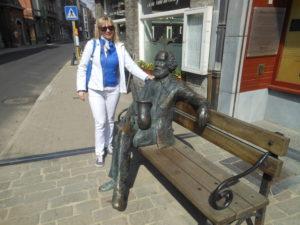 Pomnik Adolfa Saxa w Dinant
