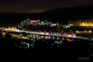 Zamek Bouillon nocą; Photo: P. Quindot