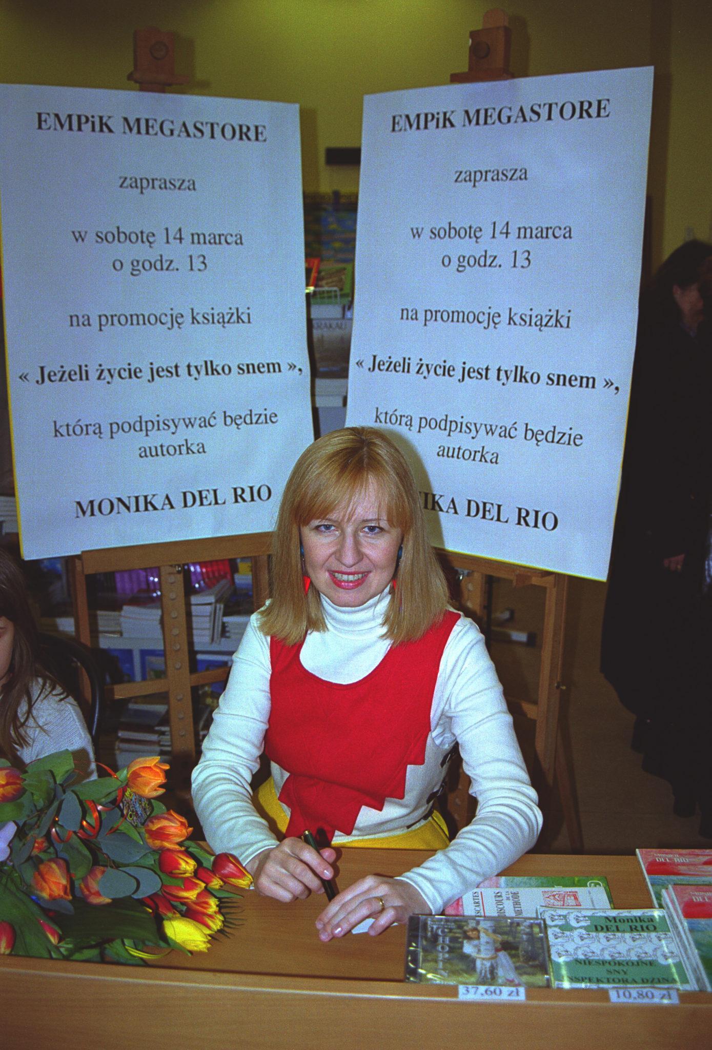 Dédicace chez Empik: Monika