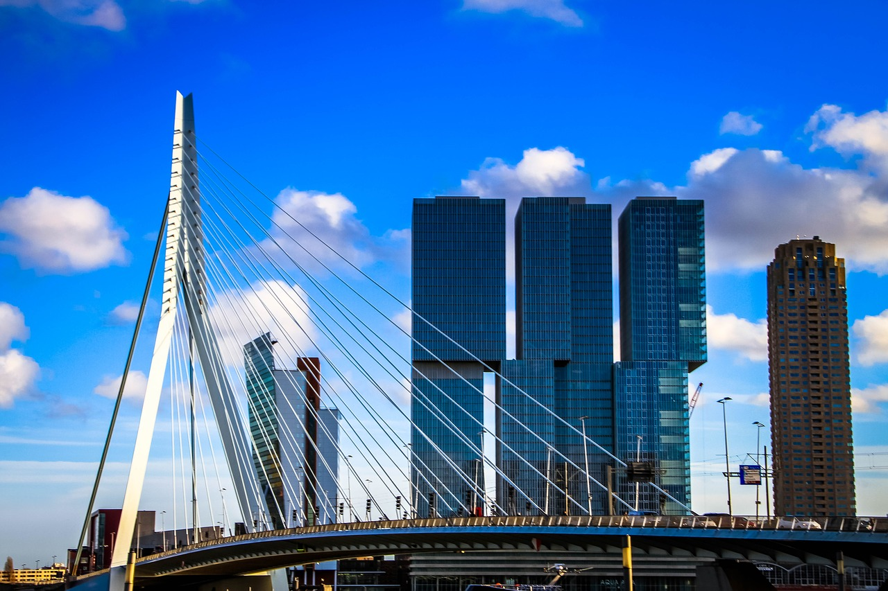 Panorama Rotterdamu