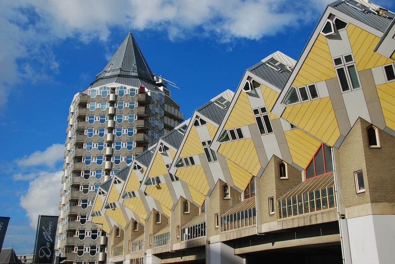 Rotterdam - kubistyczne domy