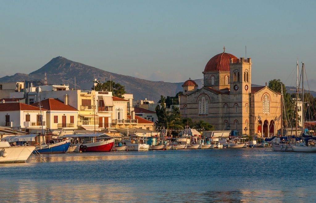 wyspa egina grecja