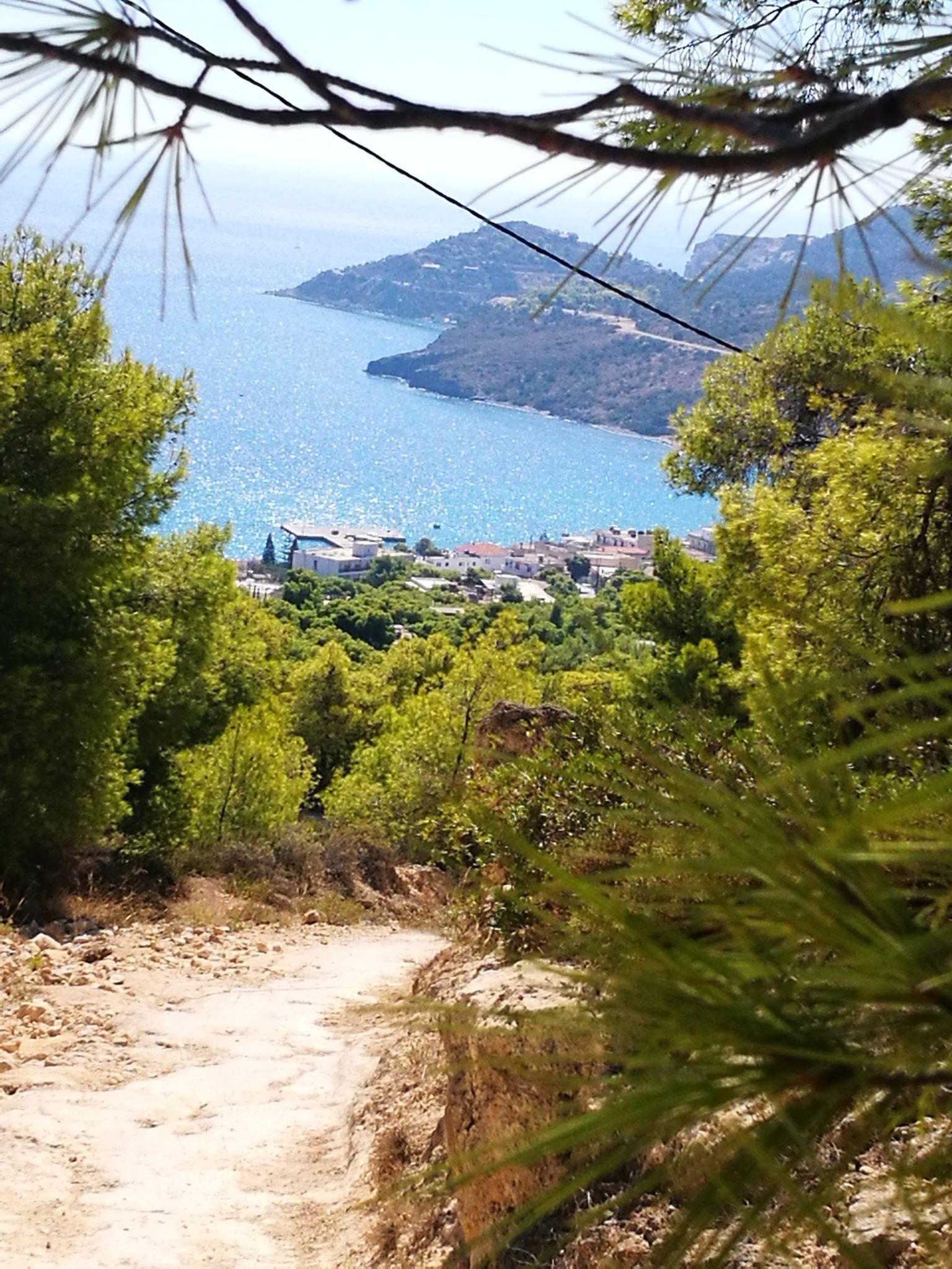 Widok na Agia Marina