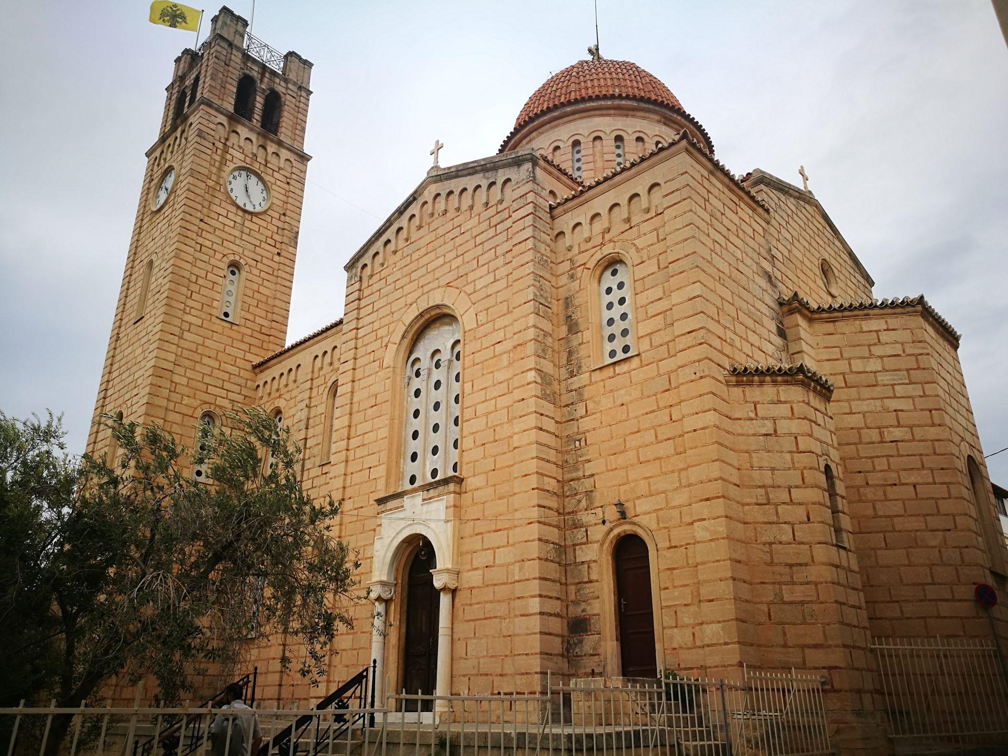 Jedna z cerkwi w mieście Egina
