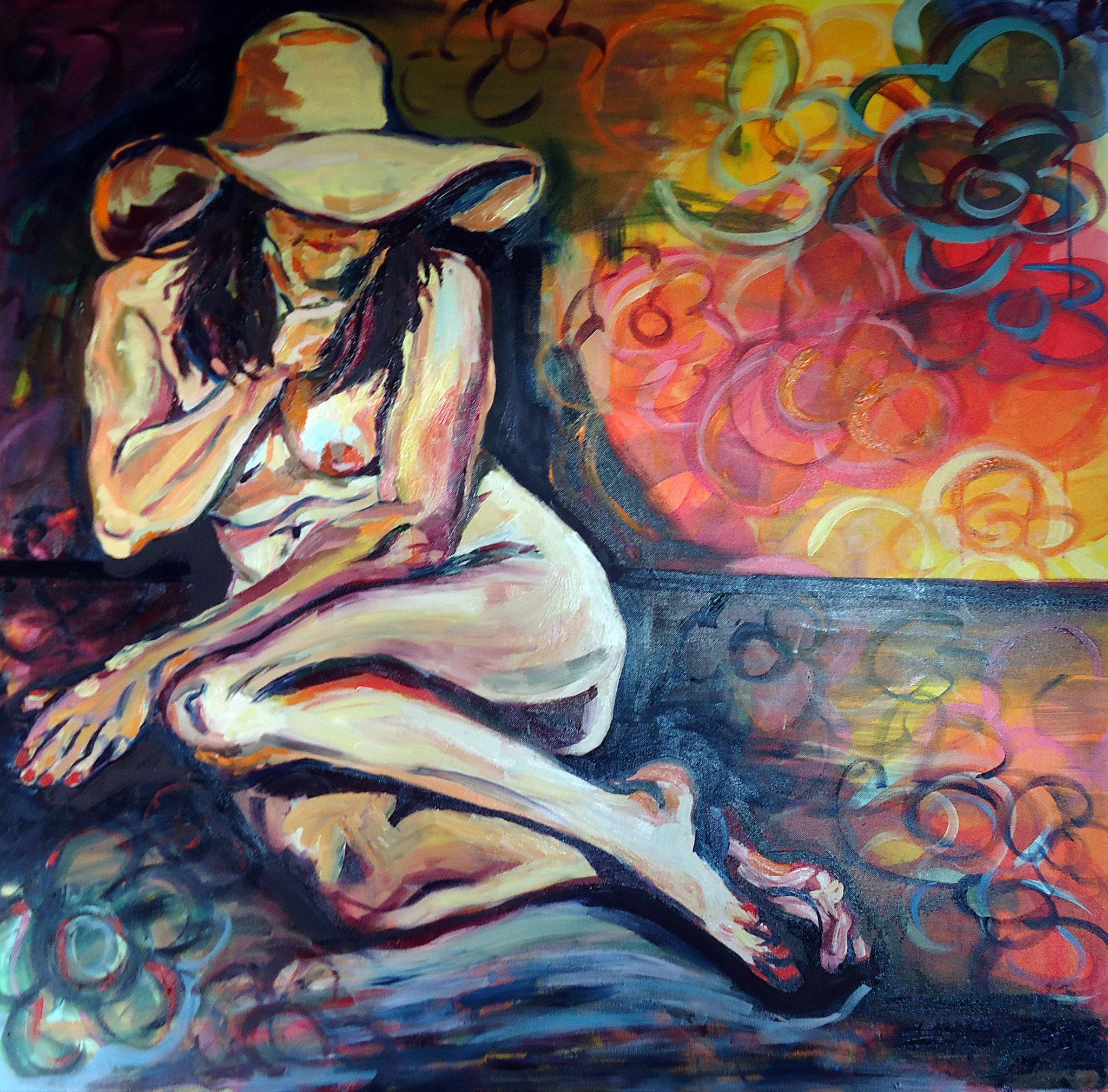 Femme Timide. Kobieta Niesmiala