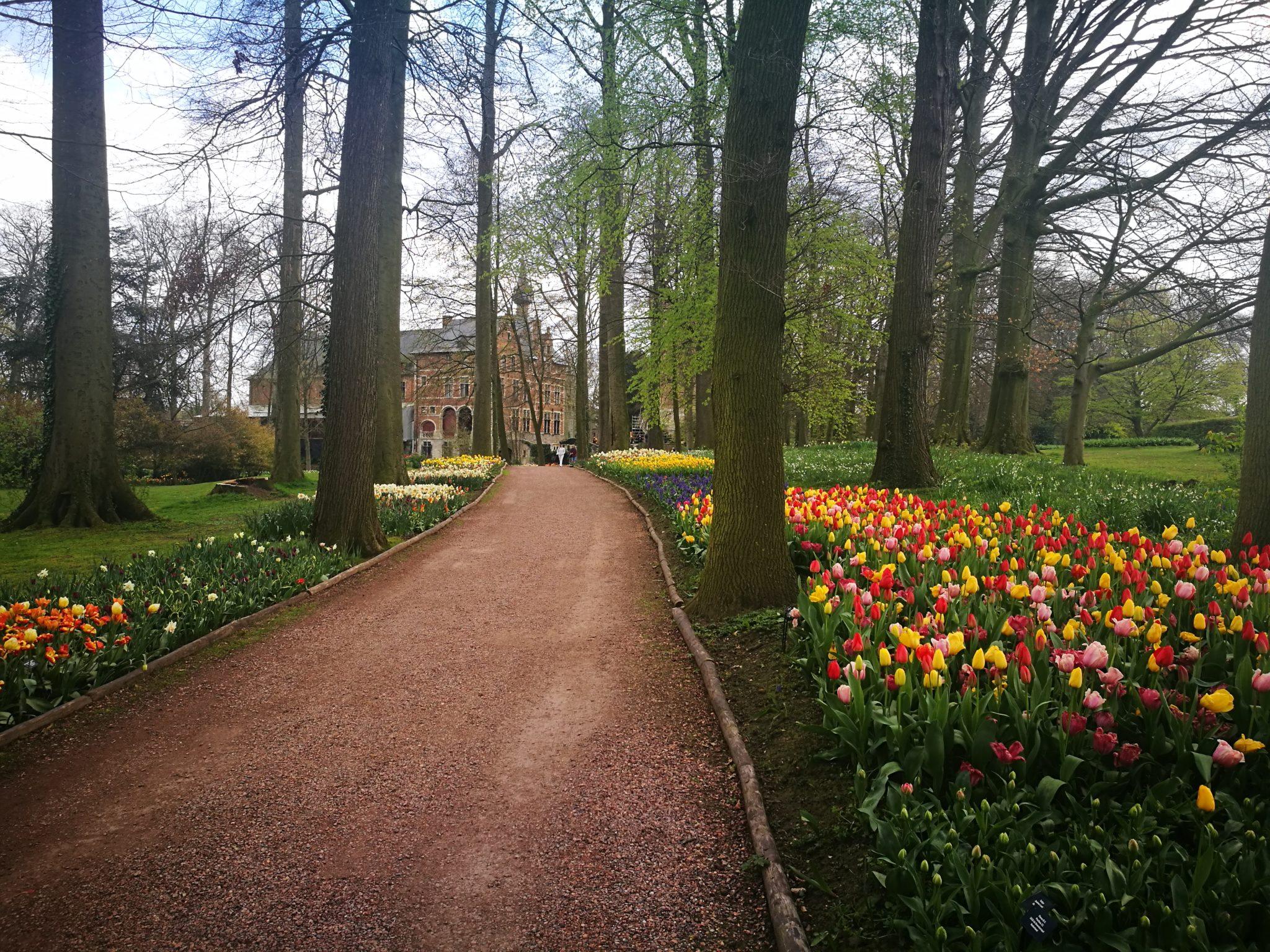 Ogród zamkowy Groot-Bijgaarden