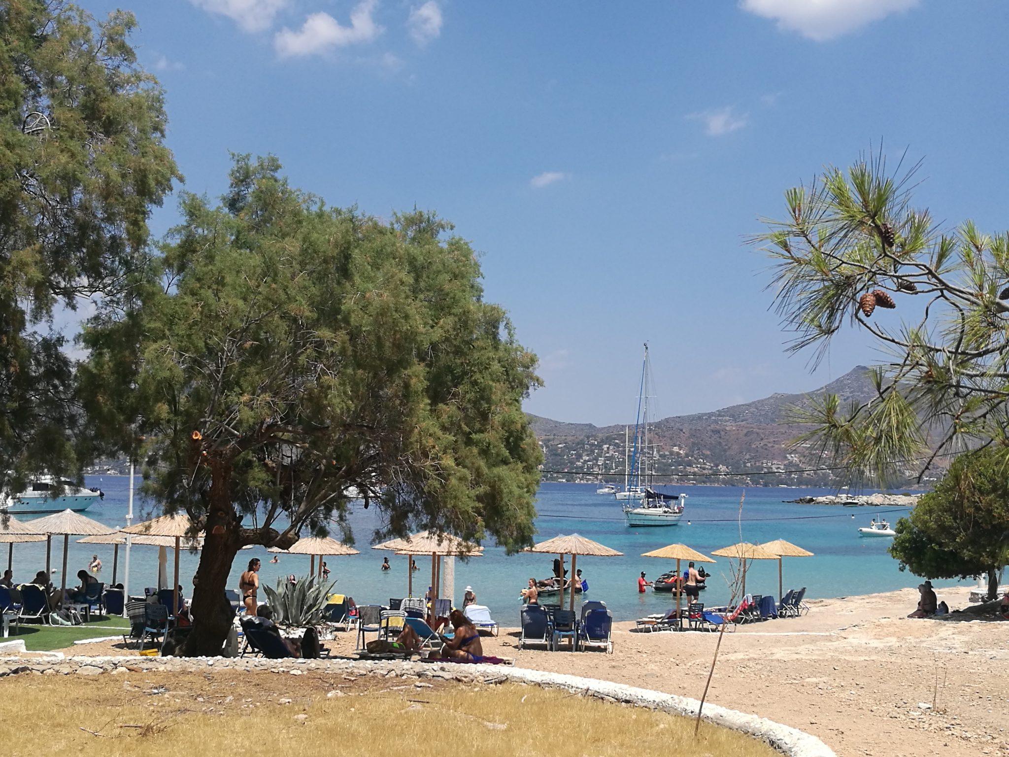 Grecka wyspa Moni