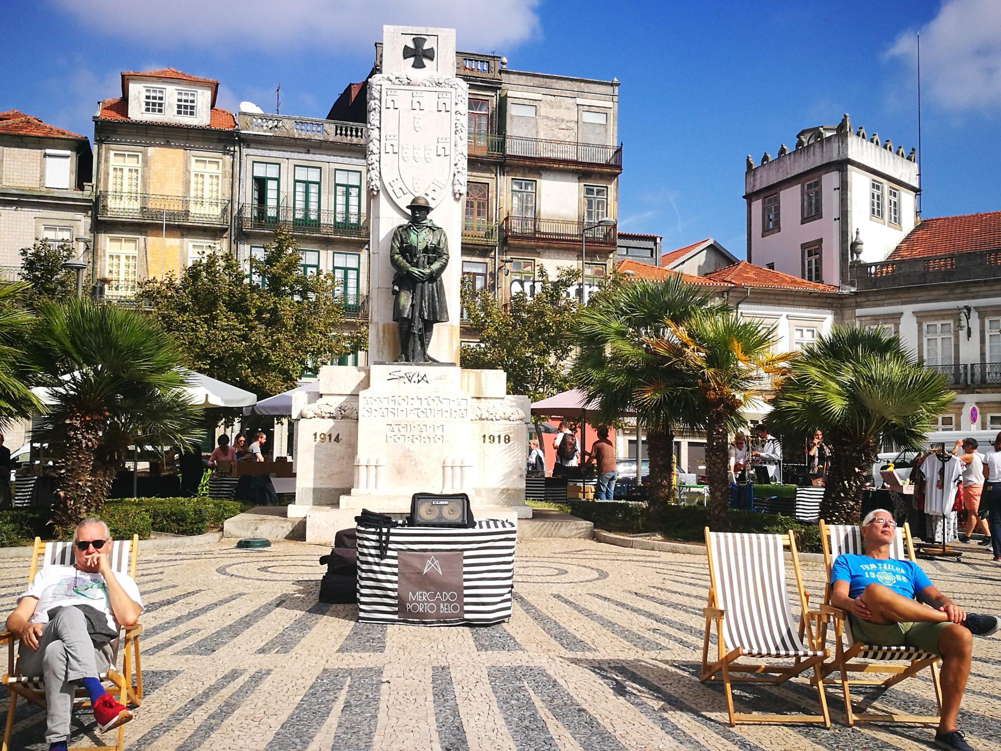 Skwer w Porto