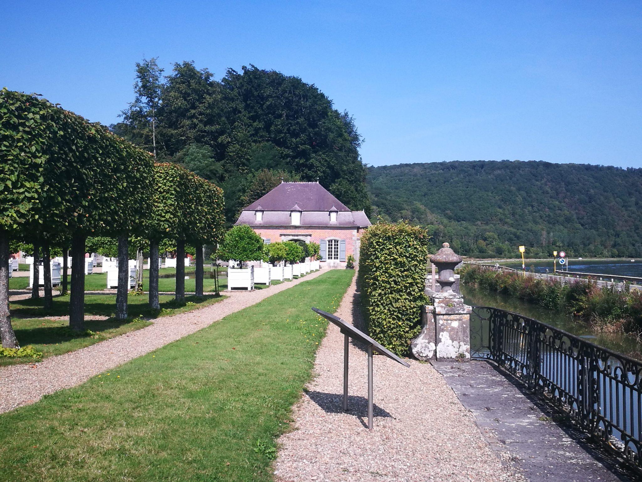 Ogrody zamku Freÿr