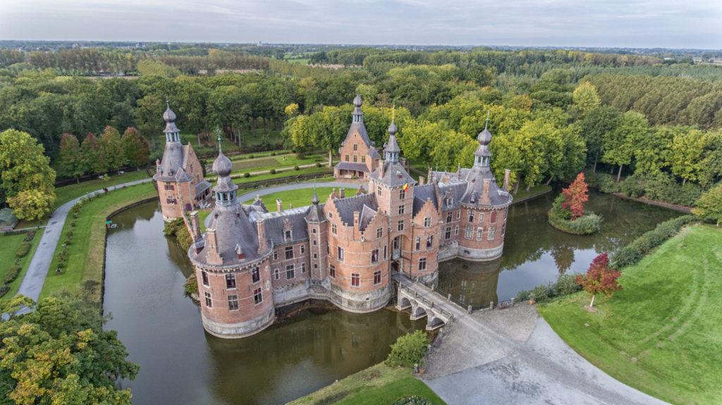 les plus beaux châteaux en belgique